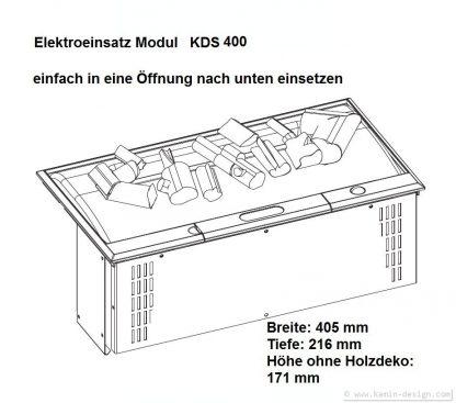 Dimplex Cassette 400 Opti-myst Elektrofeuereinsatz