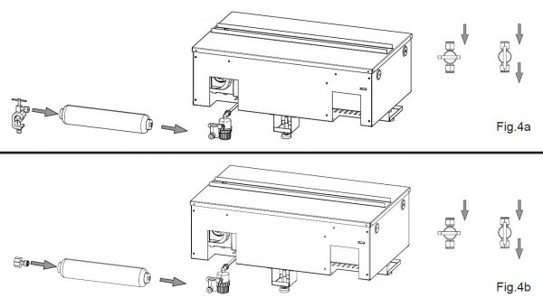 Ersatz-Kartusche / Filter Skizze