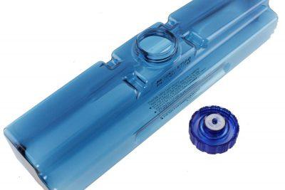 Wassertank blau für Elektrokamine