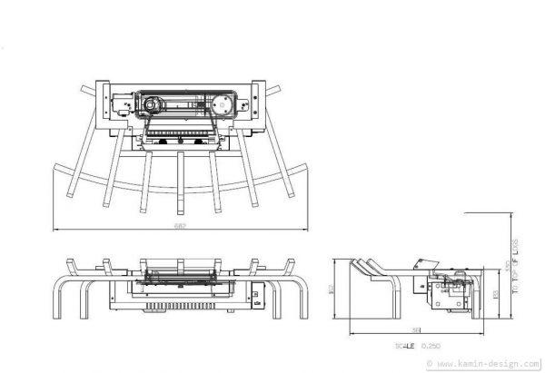 Dimplex Silverton Elektrofeuereinsatz Opti-myst 3D