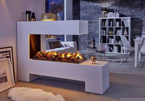 Aspect Splan 13 L100 de Luxe Raumteiler Kamin